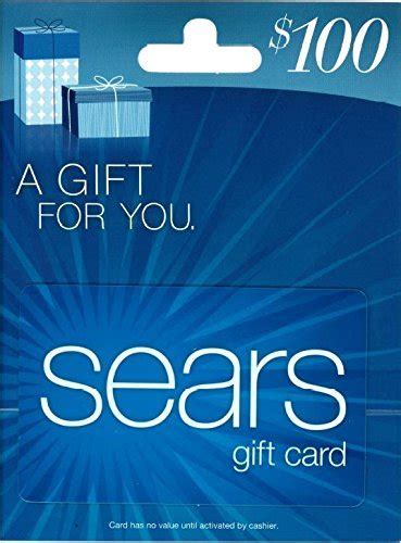 Are Sears Gift Cards Good At Kmart - sears 100 gift card
