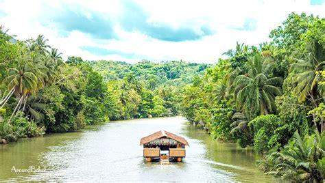 floating boat restaurant in bohol loboc river and floating restaurant around bohol