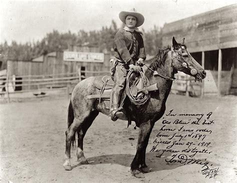 film cowboy iron horse a phantasmagoria of nonsense tom mix s improbable iron