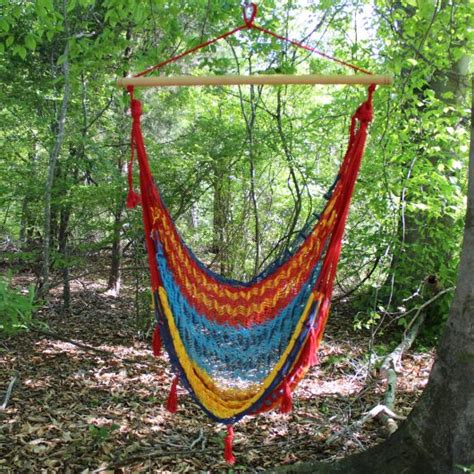 traditional mayan hammock swing chair dfohome