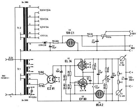 schematic power supply load tester software tester