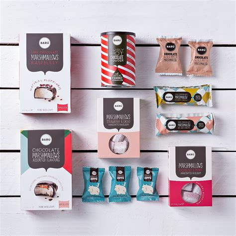marshmallow gifts bar 250 gourmet marshmallows gift tray delivery in germany