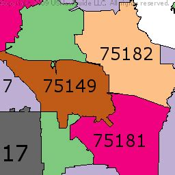 zip code map garland tx map of garland texas my blog