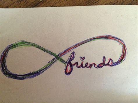 tattoo infinity friends infinity friendship tattoo tattoos pinterest