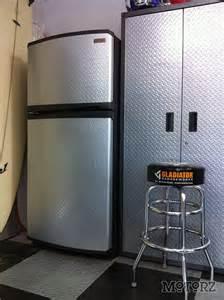 gladiator garageworks chillerator garage refrigerator