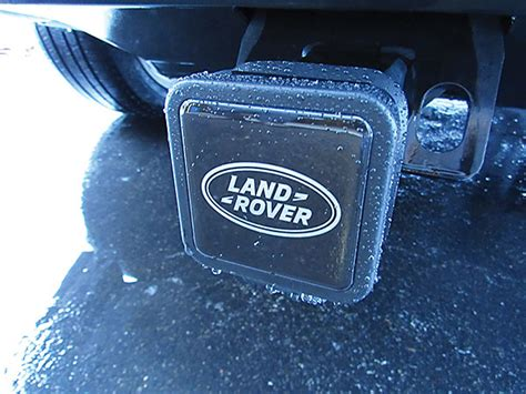 land rover hitch land rover trailer hitch cover vplwy0084
