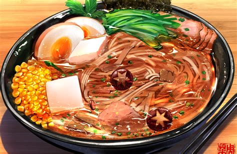 Anime Food by Anime Food In Real Food