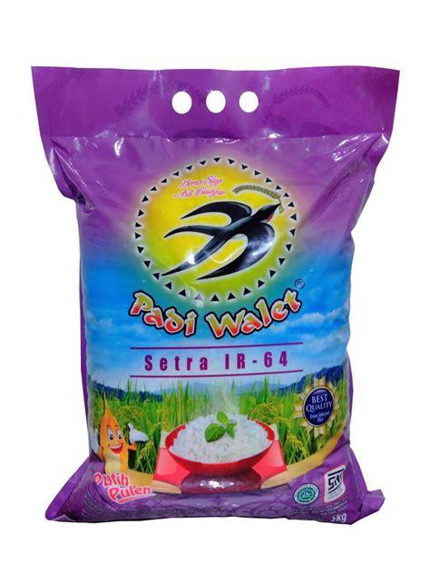 jual padi walet beras setra ir64 5 kg harga