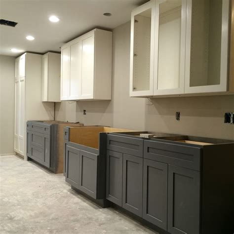 two tone grey kitchen cabinets 1000 ideas about two tone kitchen on pinterest pictures