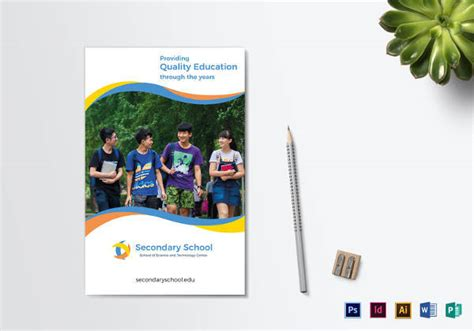 school brochure 23 download in psd vector pdf