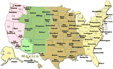 time change map usa time difference between usa and spain usa time zones map