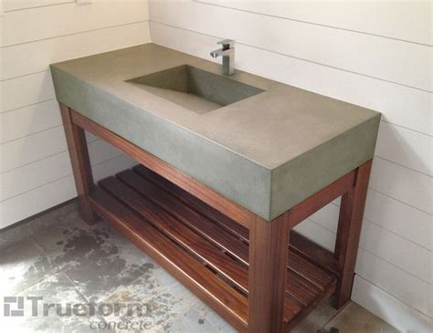 how to a cement sink 25 best ideas about concrete sink on concrete