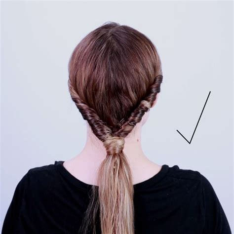 gibson knot hairdo for wet hair 2 minute style for wet hair top knot pinterest
