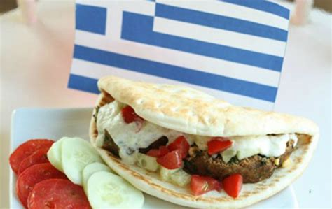 printable greek recipes healthy greek gyro recipe for kids