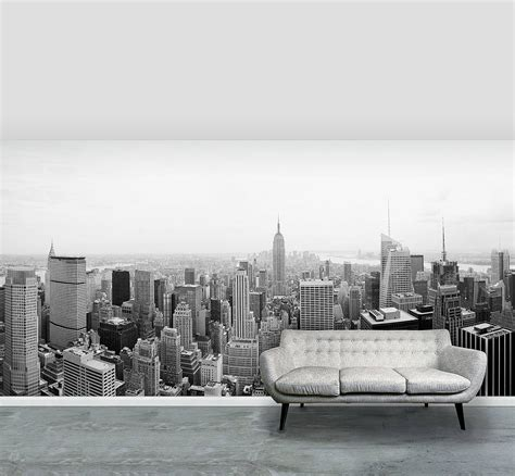wall mural new york new york city self adhesive wallpaper mural by oakdene designs notonthehighstreet