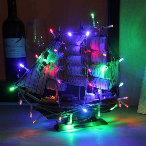 innootech multi color battery operated string lights 30
