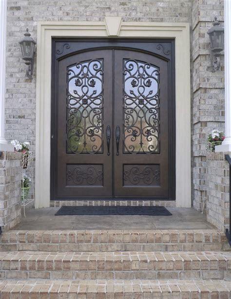 Ornate Double Iron Doors