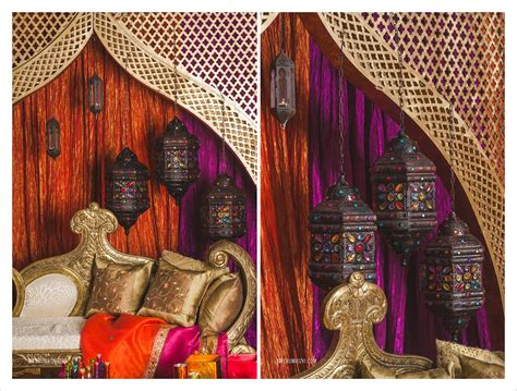 moroccan inspired decor moroccan inspired sangeet decor partyland md wedding