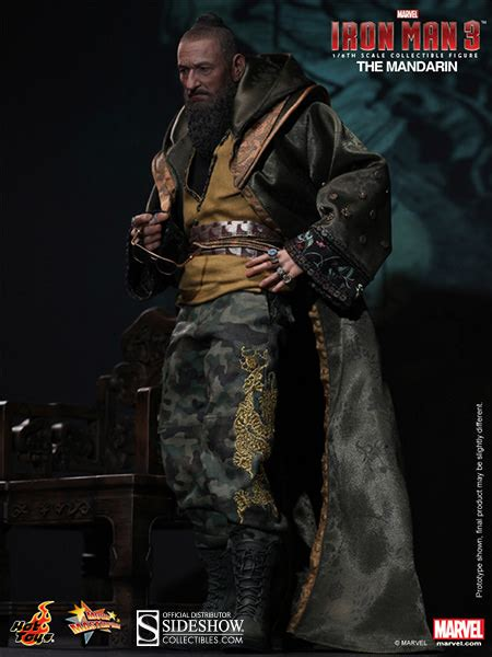 film video mandarin marvel the mandarin sixth scale figure by hot toys