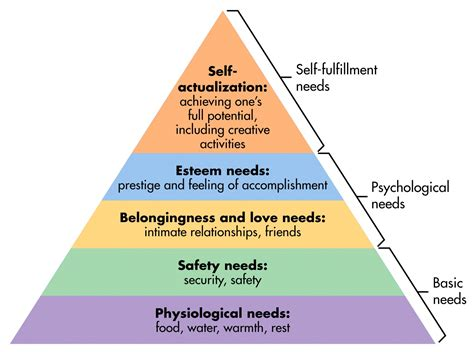 educational psychology interactive maslows hierarchy of needs