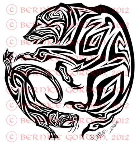 tribal otter tattoo and otter tribal by tarkheki on deviantart