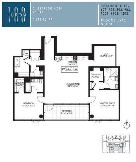 chicago condo floor plans a look at 100 w huron floor plans 100 w huron condos