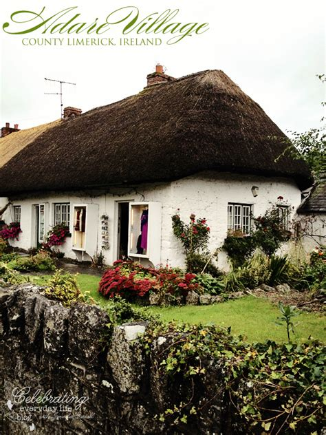 Adare Ireland Thatched Cottages by Adare Manor Picture Ireland
