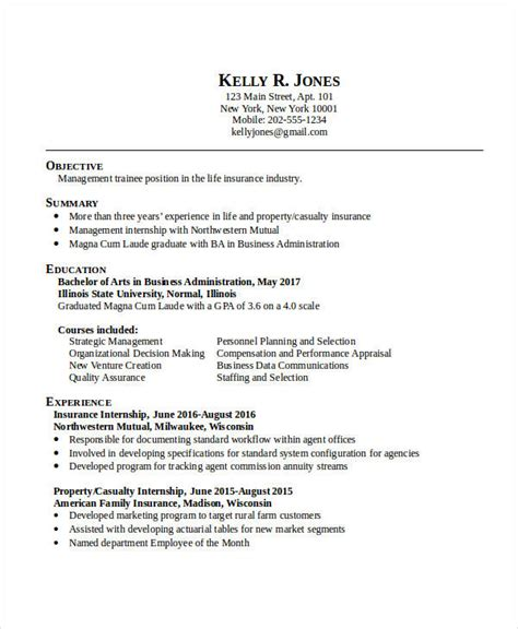Business Resume Templates by 20 Business Resume Templates Pdf Doc Free Premium