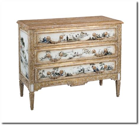 Chinoiserie Dresser by Chinoiserie Oak Chest Dresser