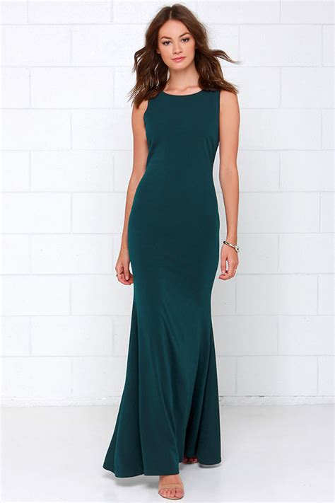 Dress Wanita Maxi Flare Combi beautiful teal maxi dress backless maxi bodycon maxi 54 00