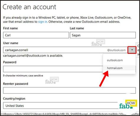 hotmail  outlook email account   time