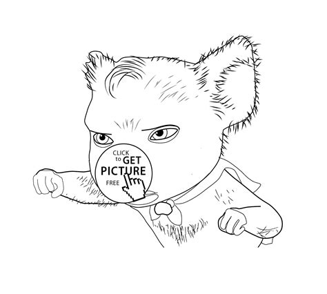 coloring pages kid com koala kid movie coloring pages for kids printable free