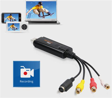 Mygica Capit Usb 2 0 Capture Adapter Device mygica capit vhs to dvd capture analog to digital tv recorder