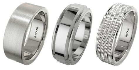 The Best Metals for Men's Wedding Rings