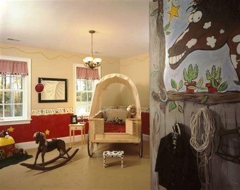 ambiance chambre enfant une chambre cowboy pour un enfant