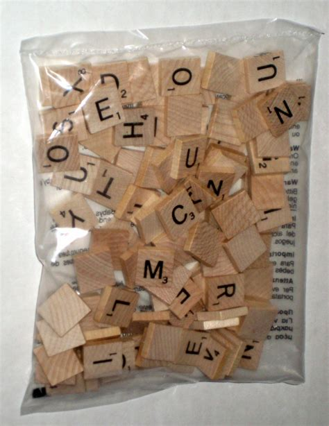 nature of scrabble sold new factory sealed 100 wood scrabble