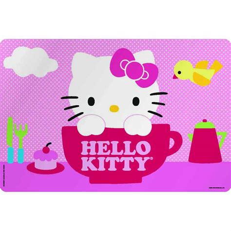 Hello Kitty Kids Plastic Placemats for sale   Hello Kitty