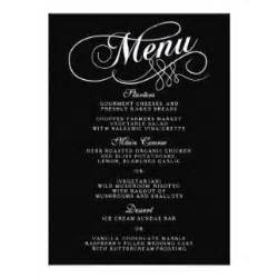 blank fancy menu template google search halloween