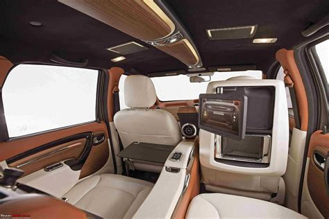 interior design in dc dc design s duster customization an additional 3 49 lakhs team bhp
