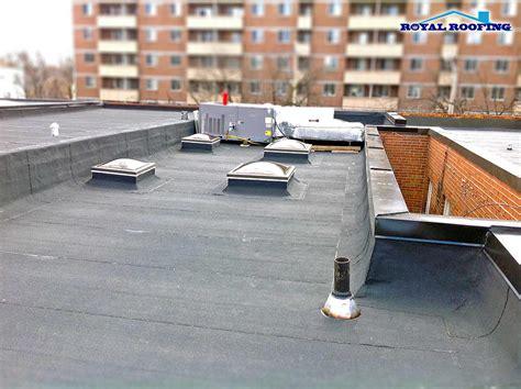 flat roof materials  toronto  gta