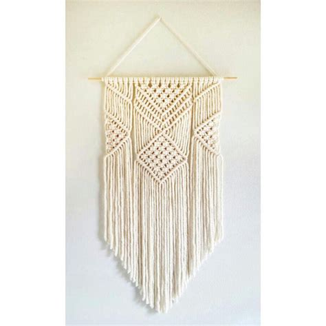 How To Make Handmade Wall Hanging - handmade macrame wall hanging belivindesign