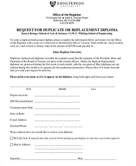 duplicate order form sle duplicate order form 9 exles in word pdf
