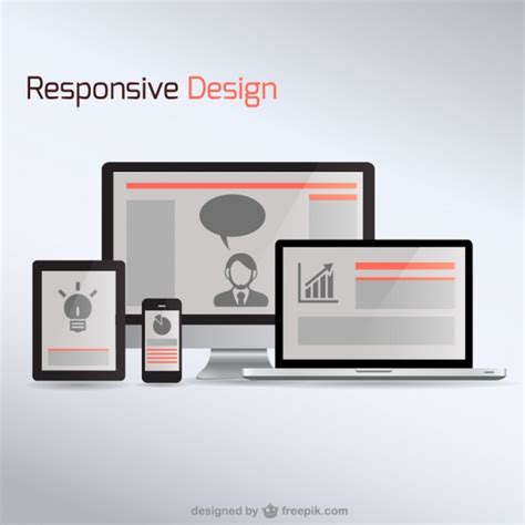 design responsive free responsive web design electronic devices vector free