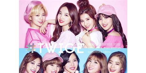 twice japan album twice to make their japanese debut with an album full of