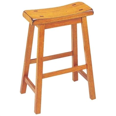 oak saddle bar stools acme furniture gaucho 29 quot saddle oak set of 2 bar stool ebay