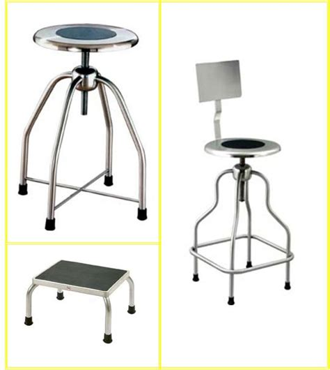 Stainless Steel Stools For Cleanroom by Foot Stool Nci