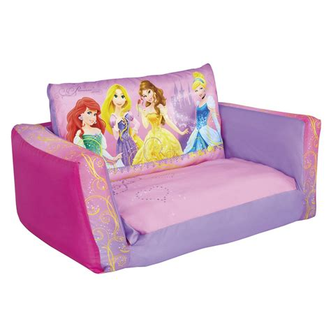 disney princess couch bed disney princess flip out sofa sofa bed ready room new ebay