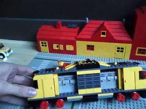 lego rv tutorial lego 7747 truck with train on trailer custom window