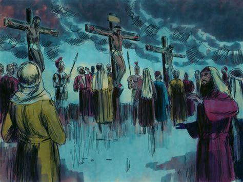 freebibleimages jesus  crucified  dies jesus