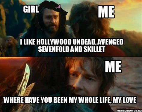 Hollywood Meme - meme creator i like hollywood undead avenged sevenfold